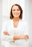 Attractive businesswoman in office Stock Photo