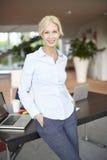 Attractive businesswoman portrait Royalty Free Stock Photos