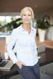 Attractive businesswoman portrait Royalty Free Stock Images