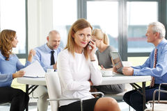Attractive businesswoman portrait Stock Photography