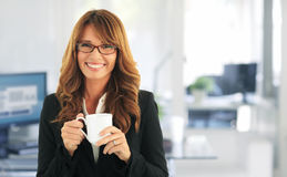 Attractive businesswoman portrait Royalty Free Stock Photography