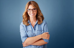 Attractive businesswoman portrait Stock Images