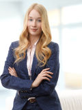 Attractive businesswoman smiling Royalty Free Stock Photography