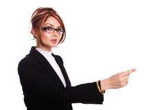 Attractive businesswoman/teacher/secretary Stock Photos