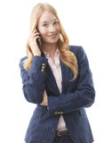 Attractive businesswoman Stock Photo