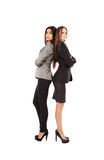 Attractive businesswomen with arms folded Royalty Free Stock Image