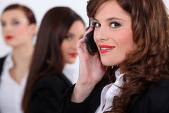 Attractive businesswomen Royalty Free Stock Photography