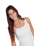 Attractive casual girl Royalty Free Stock Images