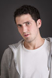 Attractive casual young man - portrait Royalty Free Stock Photos