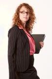 Attractive caucasian brunette woman Stock Image