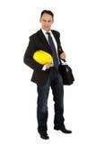 Attractive caucasian businessman Stock Photos