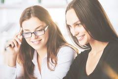 Attractive caucasian ladies Stock Image