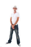 Attractive Caucasian Male with Arms Folded Stock Photos