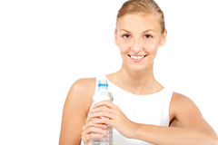 An attractive caucasian woman Stock Photo