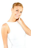 An attractive caucasian woman Stock Photography