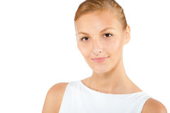 An attractive caucasian woman Royalty Free Stock Photo