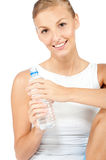 An attractive caucasian woman Stock Image