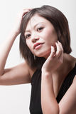 Attractive chinese girl Royalty Free Stock Photos