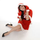 Attractive Christmas beauty Royalty Free Stock Photos