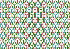 Color box pattern royalty free stock photos