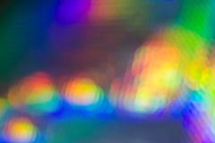 Attractive Colorful Lights with Diffuse Effect Royalty Free Stock Image