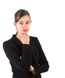 Attractive confident business woman Royalty Free Stock Photos