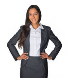 Attractive confident Indian business executive Stock Photography