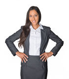 Attractive confident Indian business executive Stock Image