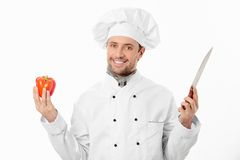 Attractive cook Royalty Free Stock Photography