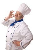 Attractive cook Stock Photo