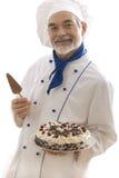 attractive cook happy Стоковое фото RF