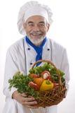 attractive cook happy Стоковое Изображение