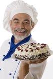attractive cook happy Стоковая Фотография RF