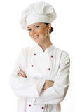 Attractive cook woman Stock Image