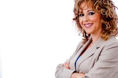 Attractive corporate lady Royalty Free Stock Photography