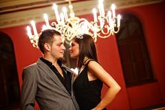 Attractive couple. Royalty Free Stock Image