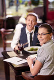 Attractive couple Stock Images