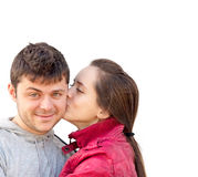 Attractive couple Royalty Free Stock Image