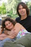 Attractive couple royalty free stock photos