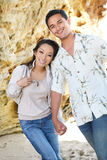 Attractive Couple at Beach Royalty Free Stock Photography