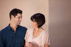 Attractive Couple looking at each other Stock Photos