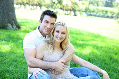 Attractive Couple in Love Stock Photos