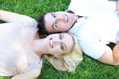 Attractive Couple in Love Royalty Free Stock Photo