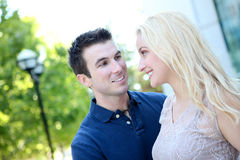 Attractive Couple in Love Stock Photography