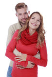 Attractive couple in love Royalty Free Stock Images