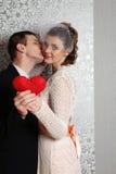 Attractive couple portraits Stock Photo