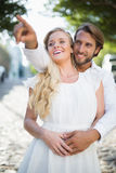 Attractive couple spending time together Royalty Free Stock Photos