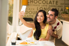 Attractive couple Stock Photo