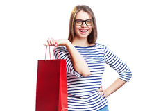 Attractive customer Royalty Free Stock Image