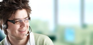 Attractive Customer Representative Royalty Free Stock Images